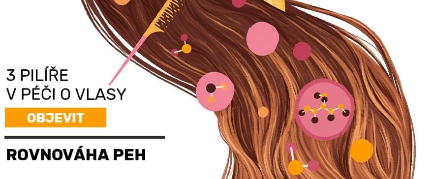 Rovnováha PEH-vlasy