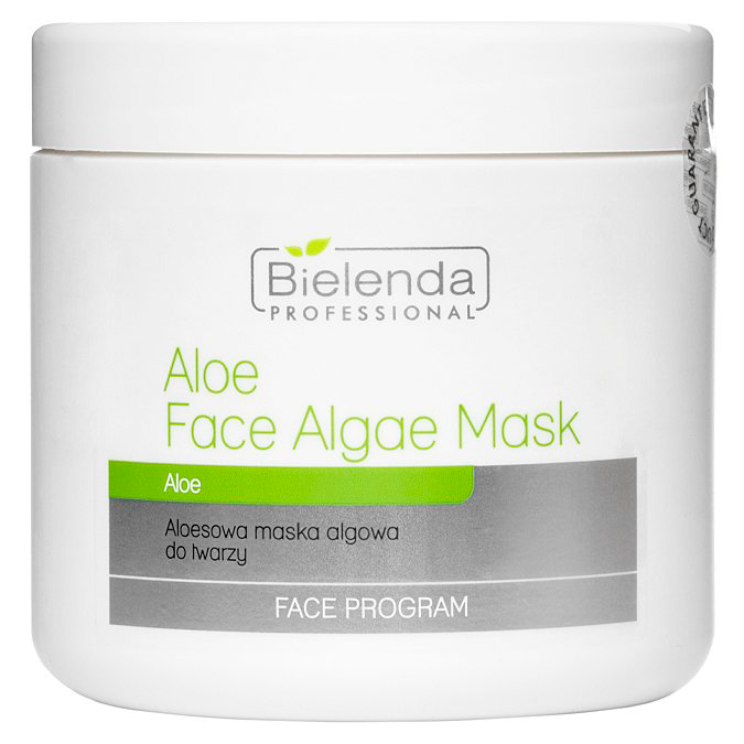 Bielenda Professional - Aloe Face Algae Mask - Aloesowa Maska Algowa