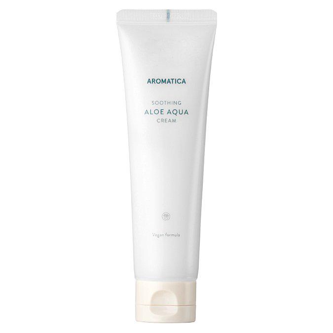 Aromatica - Natural Aloe Aqua Cream - Naturalny Nawilżający Krem do Twarzy i Ciała z Aloesem