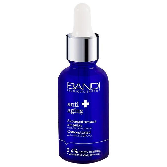 Bandi - Anti Aging - Skoncentrowana Ampułka Przeciw Zmarszczkom z Retinolem 0,4%