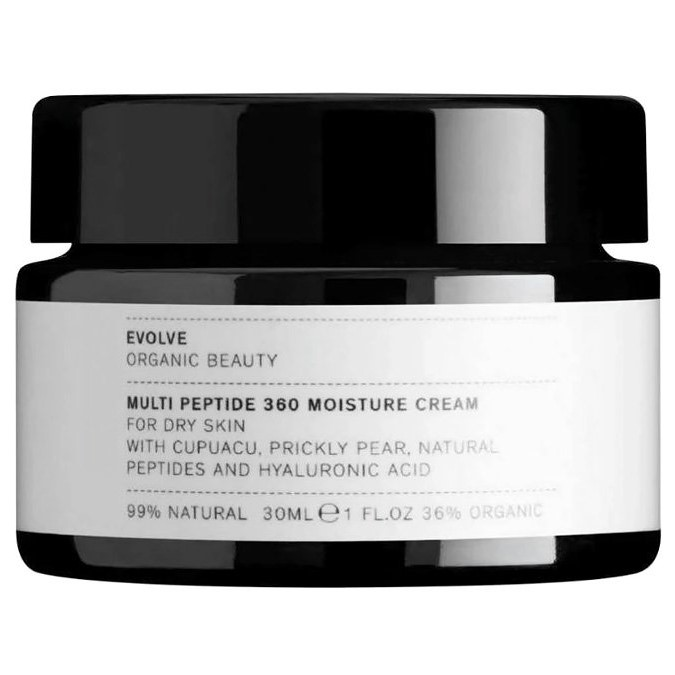 Evolve Organic Beauty - Multi Peptide 360 Moisture Cream - Multipeptydowy Krem Nawilżający