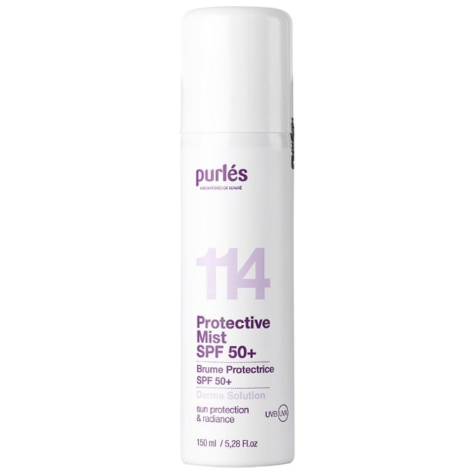 Purles - 114 - Protective Mist SPF50+ - Mgiełka Ochronna z Filtrem Przeciwsłonecznym