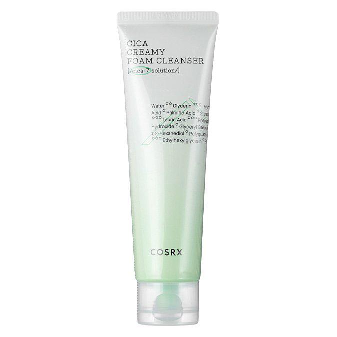 Cosrx - Pure Fit Cica Creamy Foam Cleanser - Pianka oczyszczająca