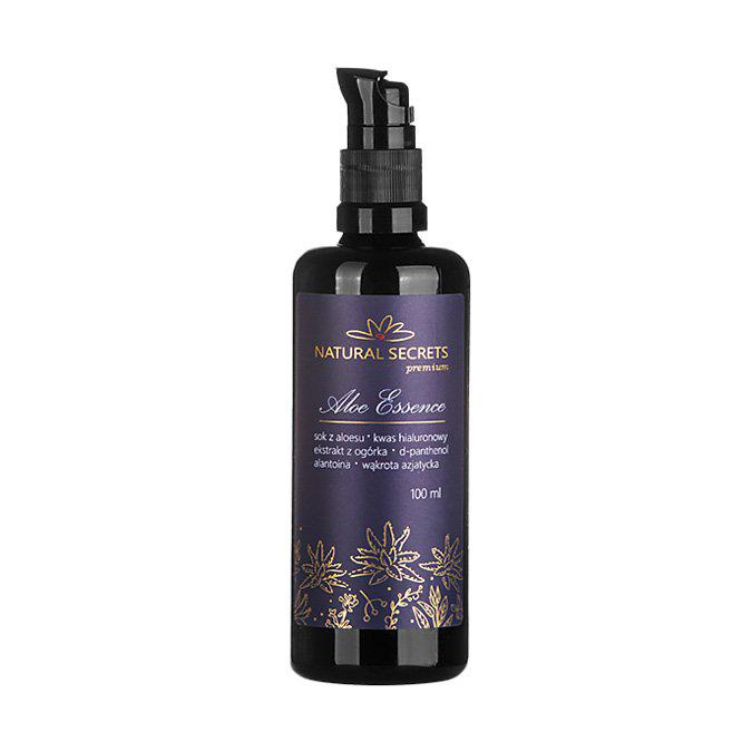 Natural Secrets - Aloe Essence - Esencja Aloesowa Premium