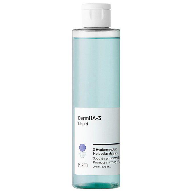 Purito - DermHa-3 Liquid - Nawilżająco-Łagodzący Tonik