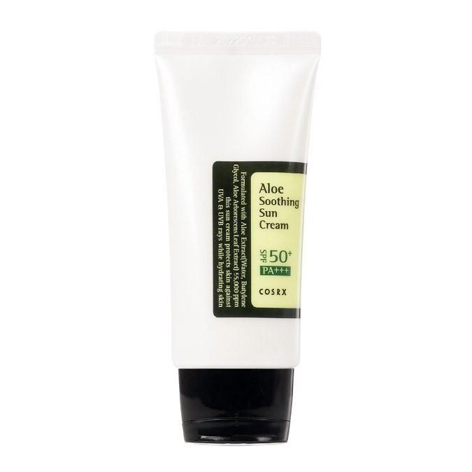 Cosrx - Aloe Soothing Sun Cream SPF50+/PA+++ - Nawilżający Krem z Filtrem Przeciwsłonecznym