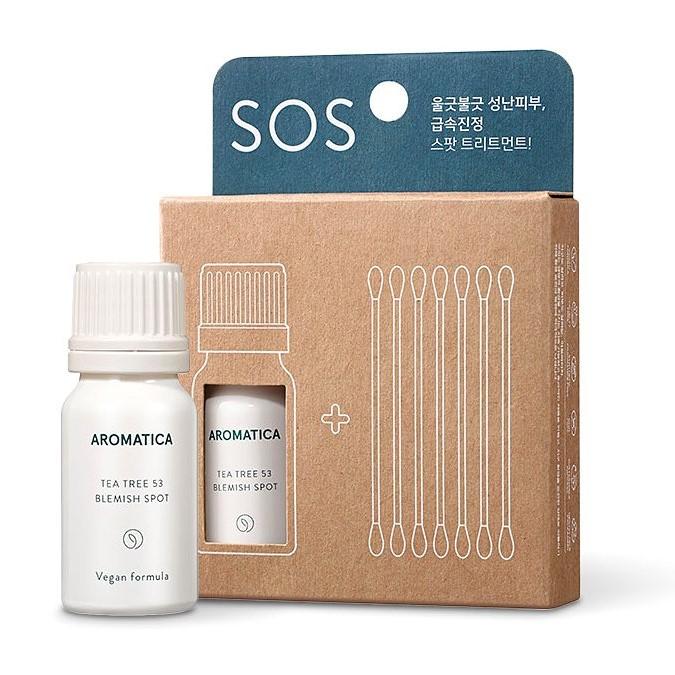 Aromatica - Tea Tree 53 Blemish Spot Set - Serum Punktowe z Ekstraktem z Drzewa Herbacianego