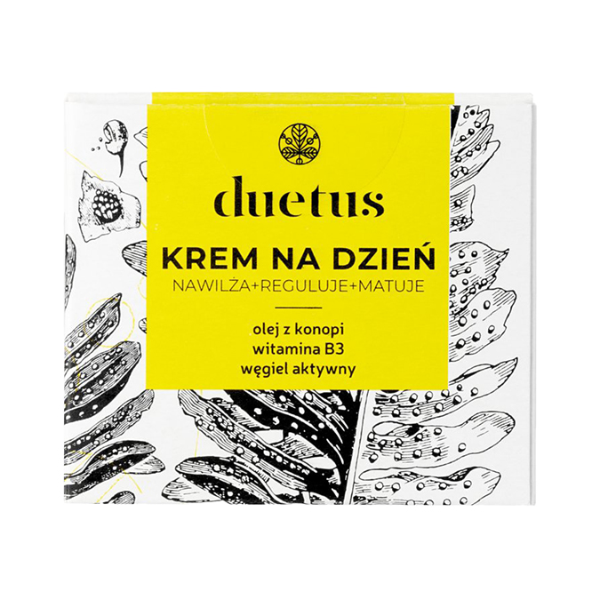 Duetus - Matujący Krem na Dzień