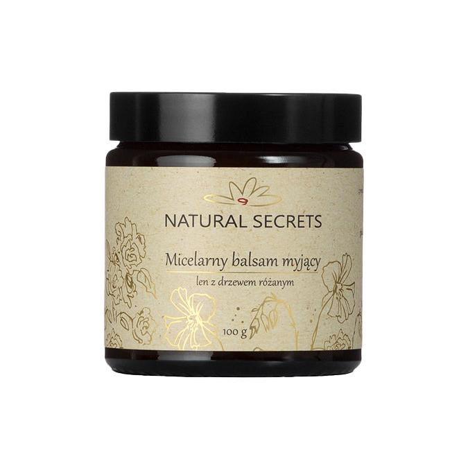 Natural Secrets - Micelarny Balsam Myjący