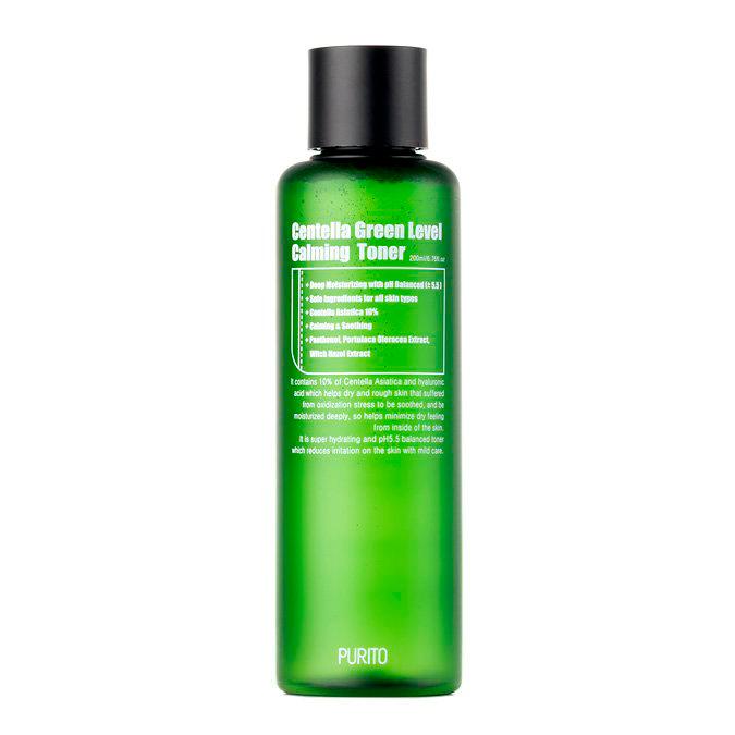 Purito - Centella Green Level Calming Toner - Toner Nawilżający na Bazie Wąkroty Azjatyckiej