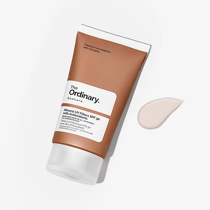 The Ordinary - Mineral UV Filters SPF30 with Antioxidants - Mineralny Krem Przeciwsłoneczny