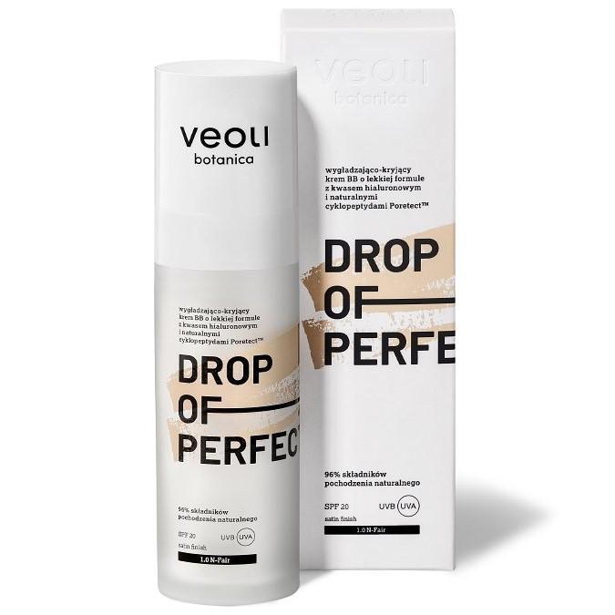 Veoli Botanica - Drop Of Perfection - 1.0 N-Fair - Wygładzająco - Kryjący Krem BB