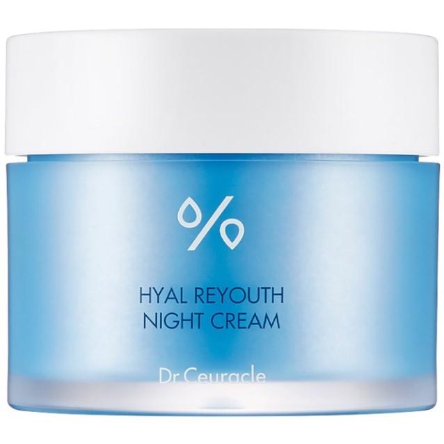 Dr. Ceuracle - Hyal Reyouth Night Cream - Odżywczo-Nawilżający Krem na Noc z Kwasem Hialuronowym