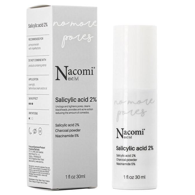 Nacomi - Next Level - Złuszczające Serum z 2% Kwasem Salicylowym