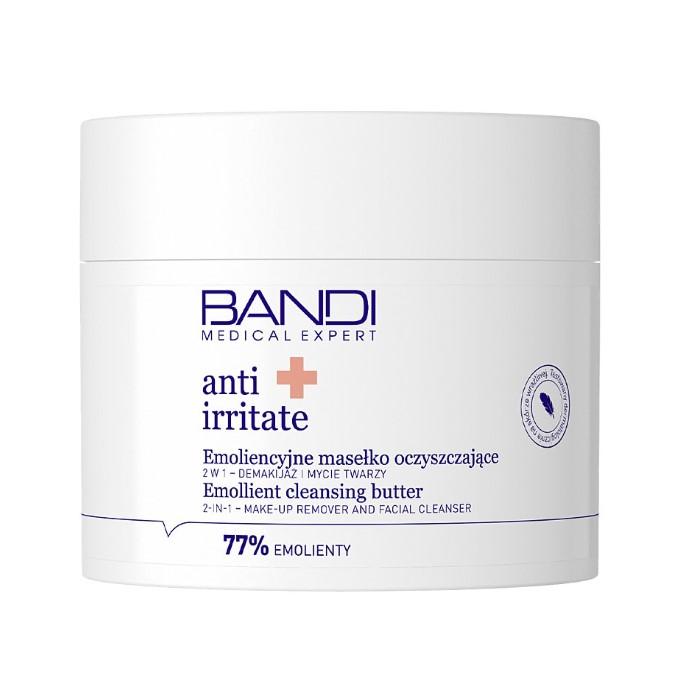 Bandi - Anti Irritate - Emoliencyjne Masełko Oczyszczające 2w1 - 90ml