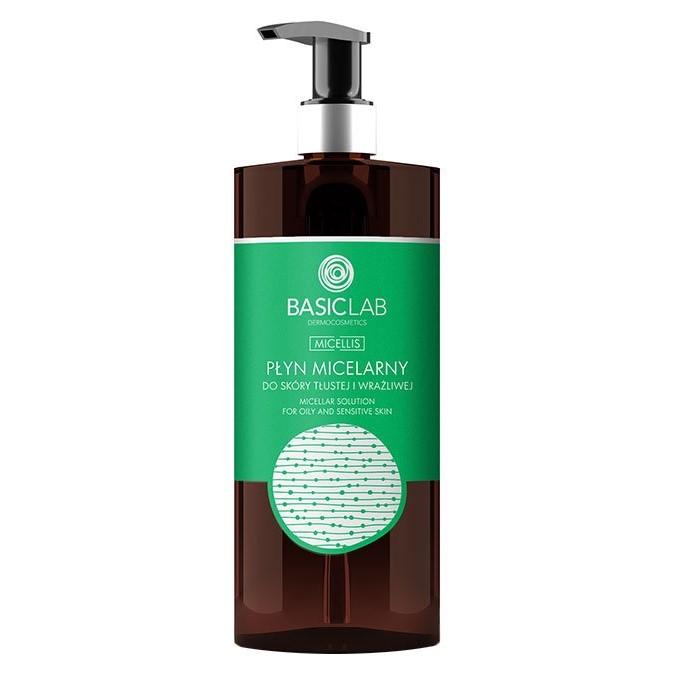 BasicLab - Micellis - Płyn Micelarny do skóry Tłustej i Wrażliwej