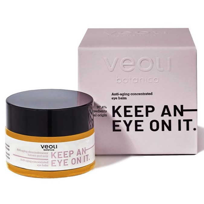 Veoli Botanica - Keep An Eye On It - Skoncentrowany Balsam pod Oczy