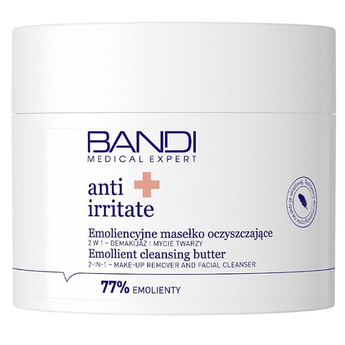 Bandi - Anti Irritate - Emoliencyjne Masełko Oczyszczające 2w1