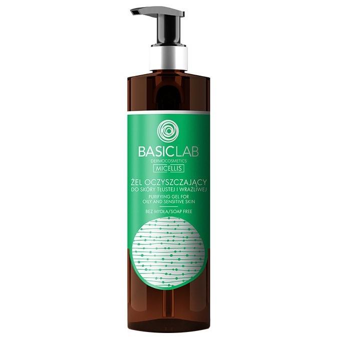 Basiclab - Żel Oczyszczający Do Skóry Tłustej i Wrażliwej