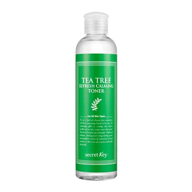 Secret Key - Tea Tree Refresh Calming Toner - Tonik do Twarzy z Ekstraktem z Drzewa Herbacianego