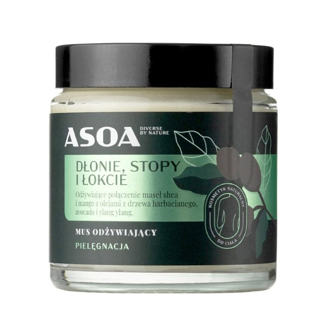 Asoa - Mus Odżywiający Dłonie, Stopy i Łokcie