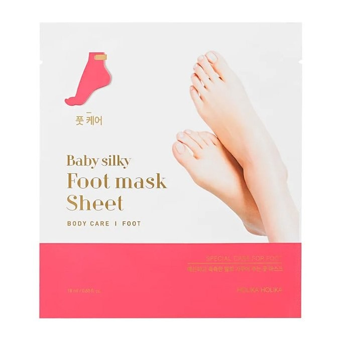 Holika Holika - Baby Silky Foot Mask Sheet - Regenerująca Maska do Stóp