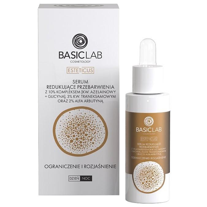 Basiclab - Cosmetology Esteticus - Serum Redukujące Przebarwienia - Ograniczenie i Rozjaśnienie
