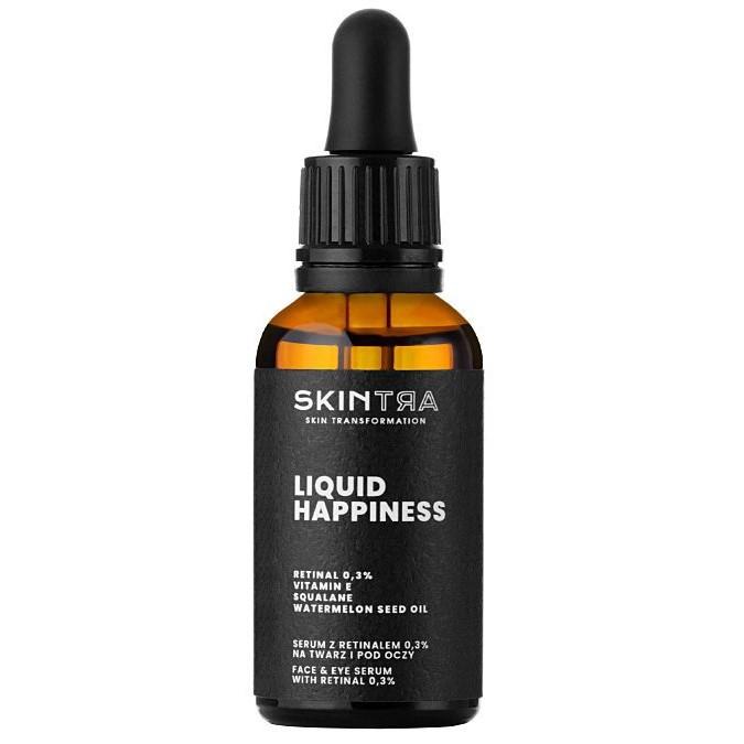 SkinTra - Liquid Happiness - Serum z Retinalem 0,3% na Twarz i pod Oczy