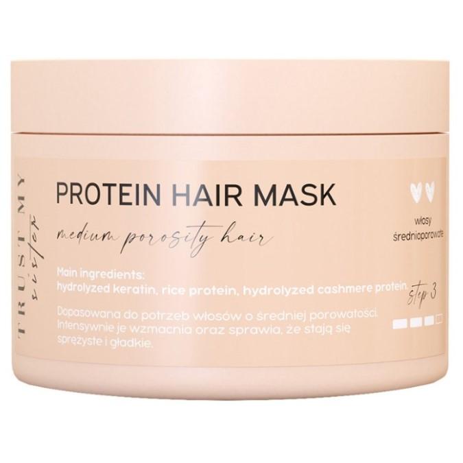 Trust My Sister - Proteinowa Maska do Włosów Średnioporowatych