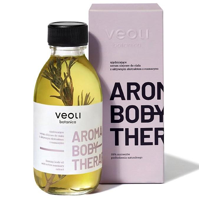 Veoli Botanica - Aroma Body Therapy - Ujędrniające Serum Olejowe do Ciała z Aktywnym Ekstraktem z Rozmarynu