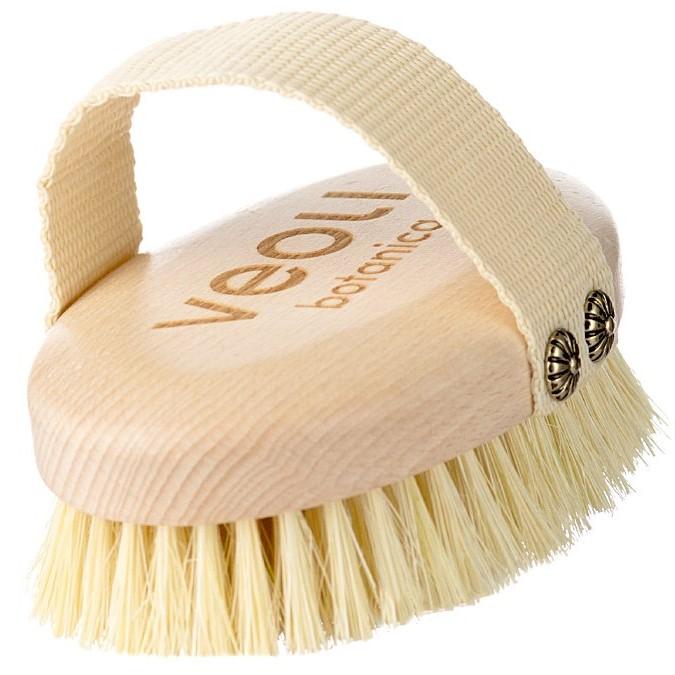 Veoli Botanica - Just Brush It - Szczotka z Agawy do Masażu Ciała