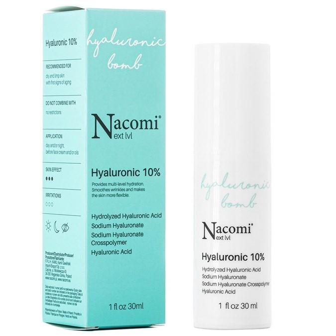 Nacomi - Next Level - Serum z Kwasem Hialuronowym 10%