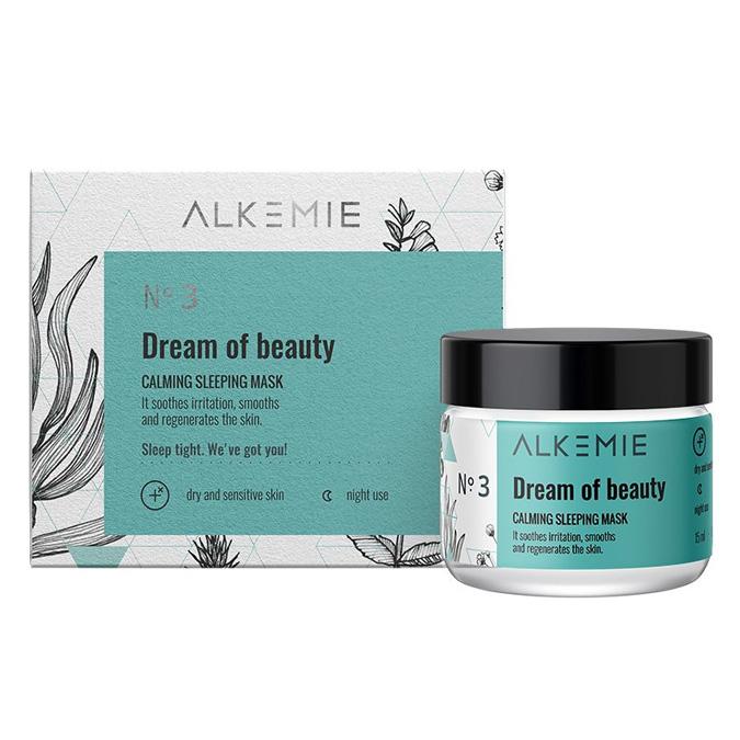 Alkemie Microbiome Dream Of Beauty Wyciszająca Maska-Krem na Noc