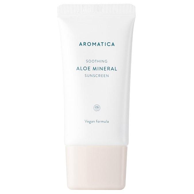 Aromatica - Aloe Mineral Sunscreen SPF50/PA++++