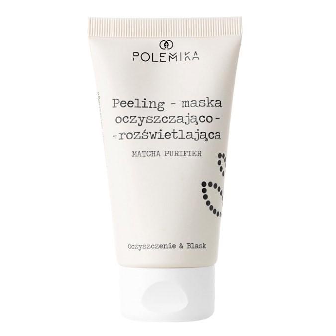 Polemika - Peeling Maska Oczyszczająco-Rozświetlająca