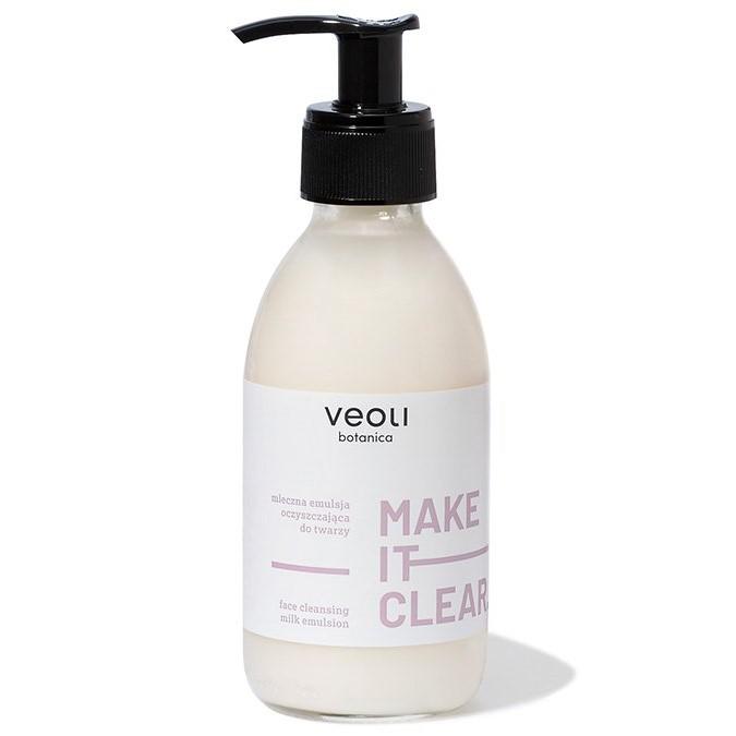 Veoli Botanica - Make It Clear - Mleczna Emulsja Oczyszczająca do Twarzy