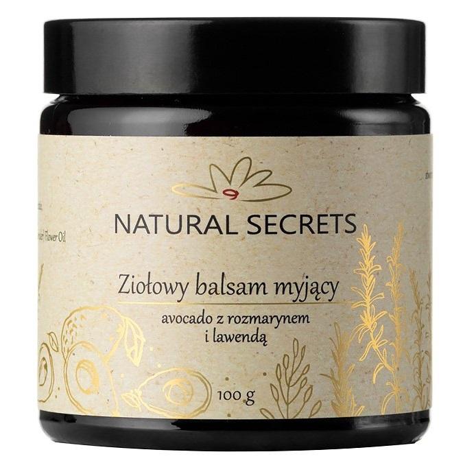 Natural Secrets Ziołowy Balsam Myjący