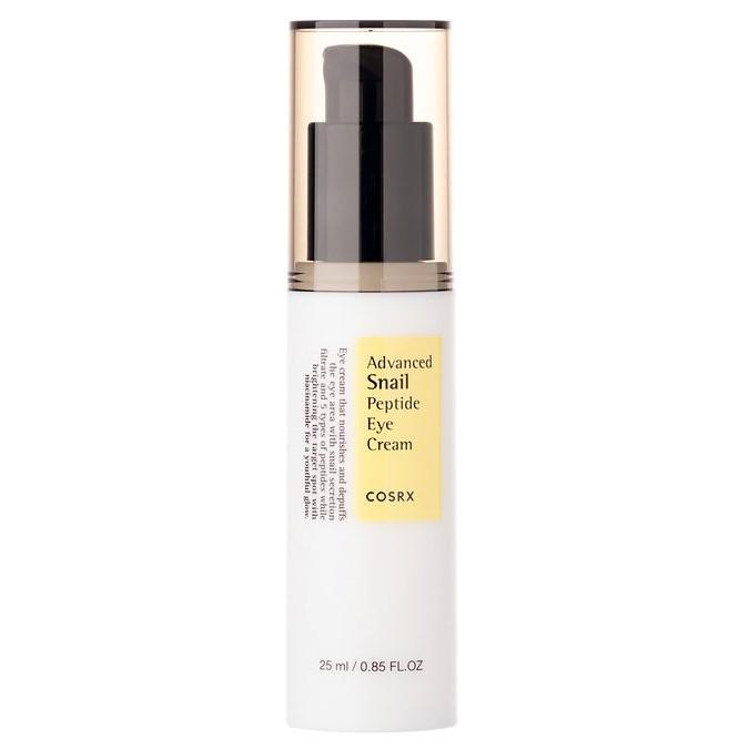 Cosrx - Advanced Snail Peptide Eye Cream - Lekki Krem Nawilżająco-Odżywczy pod Oczy ze Śluzem Ślimaka