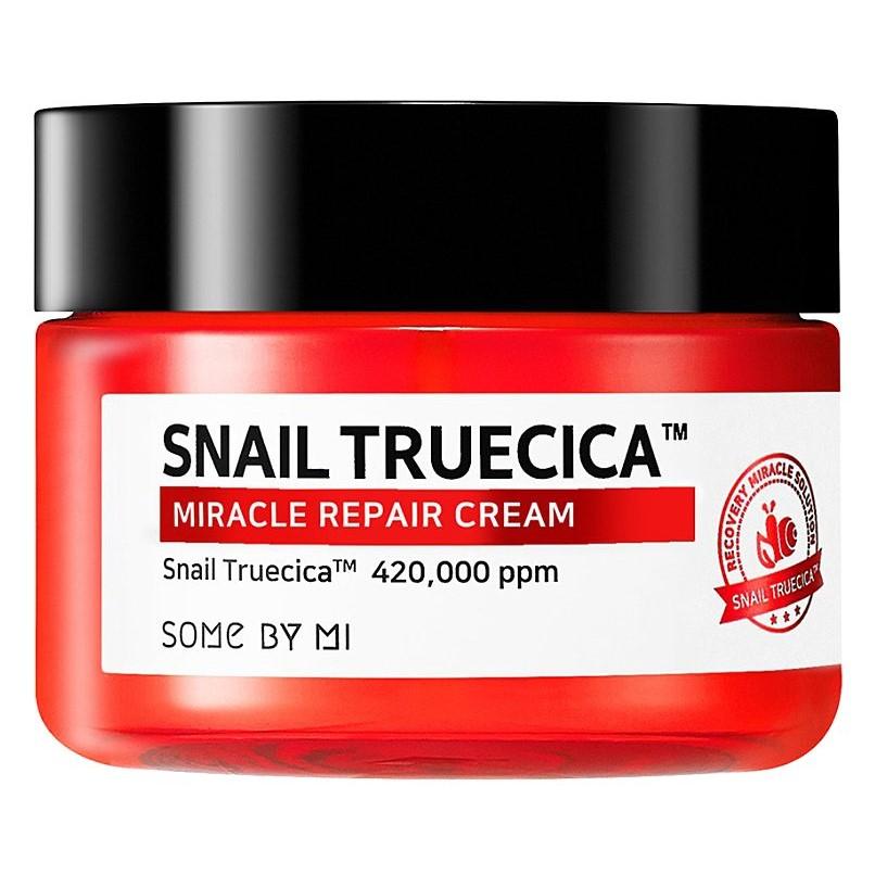 Some By Mi - Snail Truecica Miracle Repair Cream - Rewitalizujący Krem ze Śluzem Ślimaka