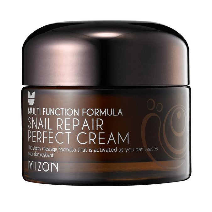 Mizon - Snail Repair Perfect Cream - Krem Naprawczy ze Śluzem Ślimaka