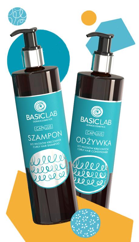 basiclab odżywka szampon